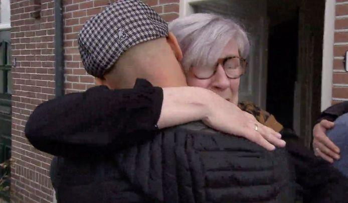All You Need is Love. Moeder Rita en zoon Mark.