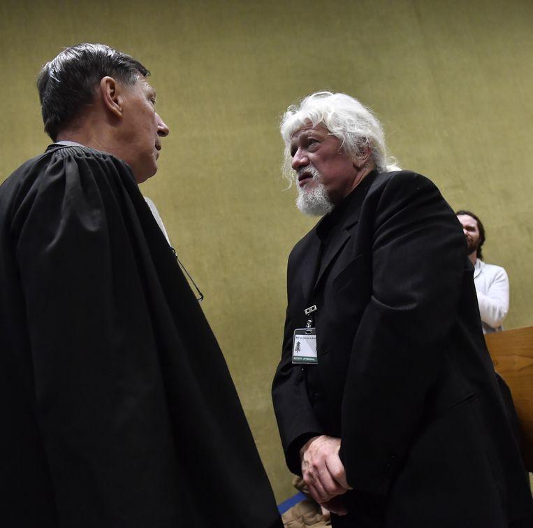 Vader Jan Jacob en zijn advocaat Jef Vermassen.