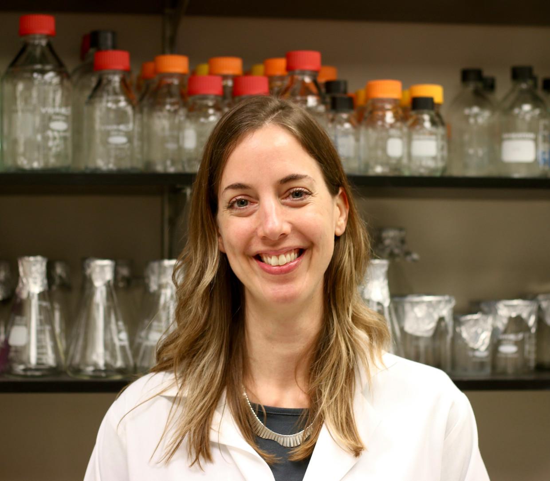 Viroloog Andrea Pruijssers. Beeld Privé