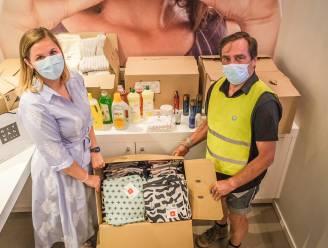 Winkelcentrum K schenkt hygiënische- en poetsproducten aan slachtoffers overstromingen