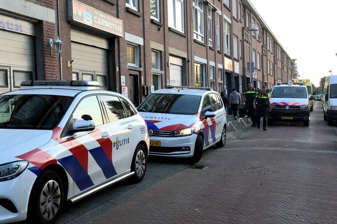 De steekpartij vond dinsdagavond plaats aan de Haagse Laakkade.