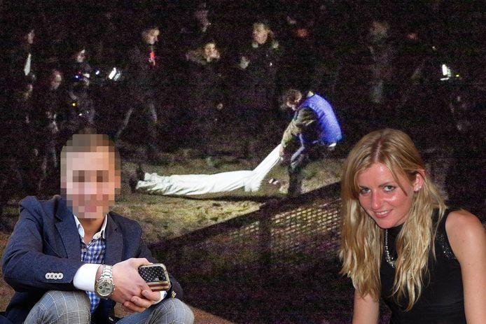 Alexandru Caliniuc (26, links) wordt ervan verdacht Sofie Muylle (27, rechts) verkracht en gedood te hebben.