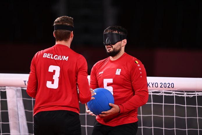 Les Belges Bruno Vanhove et Klison Mapreni