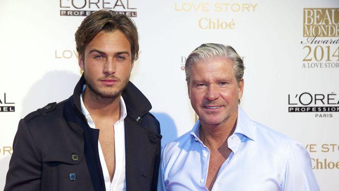 Dave en zijn vader Dries Roelvink.