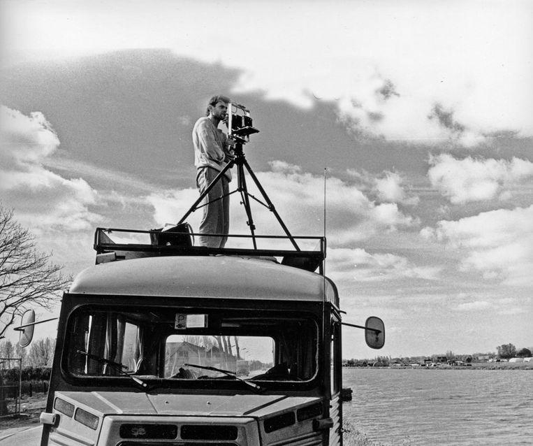 Hans Aarsman maakt Hollandse taferelen, 1988 Beeld Henk Rougoor
