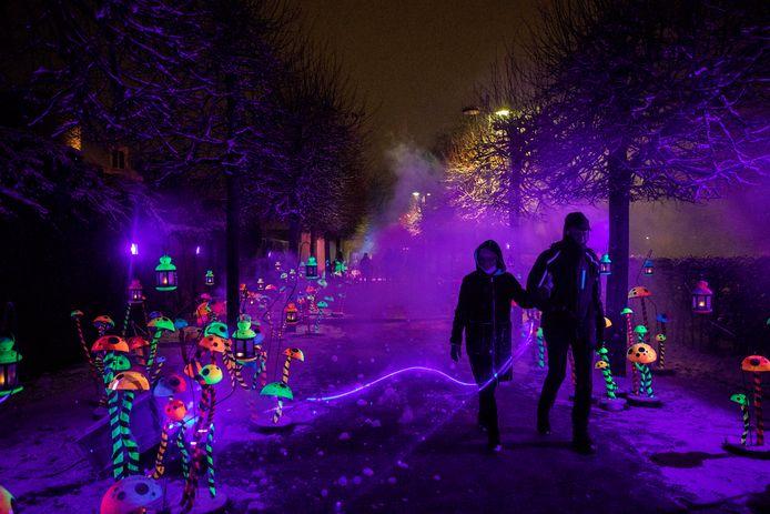Truienaren en bezoekers kunnen nog tot het einde van de krokusvakantie genieten van 'Sint-Truiden by Lights', mét extra beleving.
