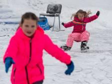 Toch water én vorst in Epe: op ijsbaan De Klaarbeek wordt geschaatst