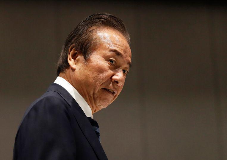 Haruyuki Takahashi, lid van het organisatie comité van de Spelen in Tokio.  Beeld EPA