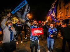 """Un hommage restreint après le dernier match de Bruges: """"Nous demandons à tous, même aux joueurs, de respecter les mesures Covid"""""""