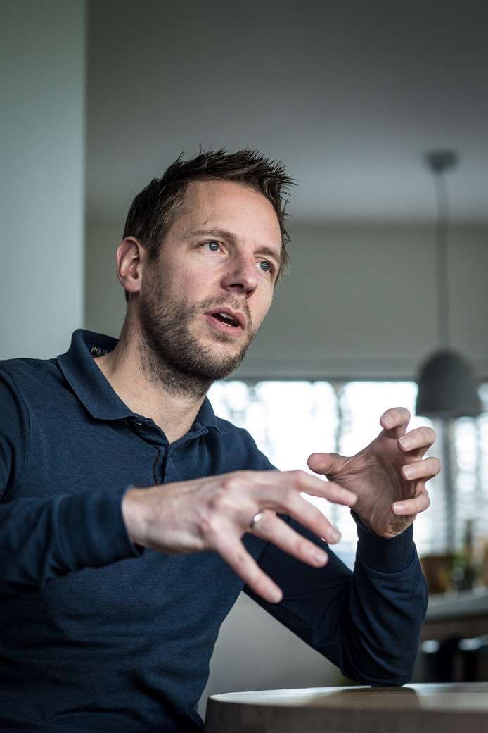 Christian Kromme: ,,Ik ben een voorstander van technologie. Maar het heeft een grote schaduwkant.''