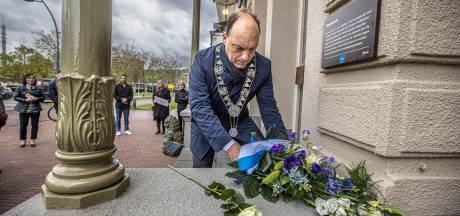 Gedenkplaat voor gedeporteerde Joodse inwoners van Zwolle