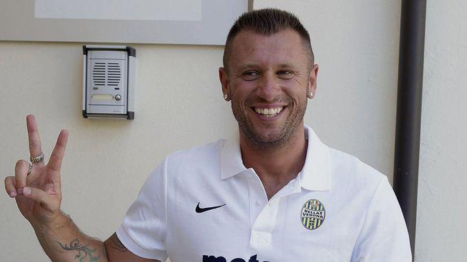 Cassano verandert nog eens van gedacht en wil toch niet uitkomen voor Hellas Verona