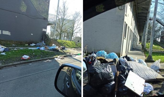 Le quartier de l'Allée Verte à Jumet (Charleroi) était dans un état lamentable samedi