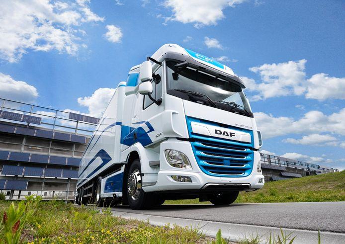 DAF CF Electric: een elektrische vrachtauto van Nederlandse makelij