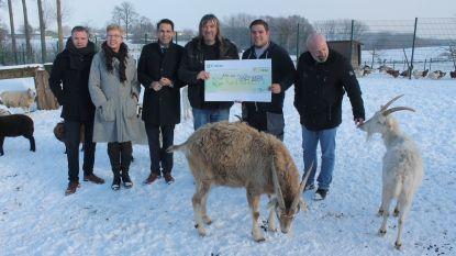 Vlaams Belang schenkt cheque aan Ark van Pollare