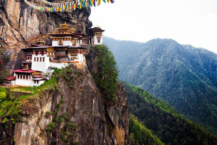 'Geweldig hoe de mensen van Bhutan achter het idee van 'bruto nationaal geluk' staan, het idee dat geluk iets wezenlijks is', zegt Fox.  Beeld Thinkstock