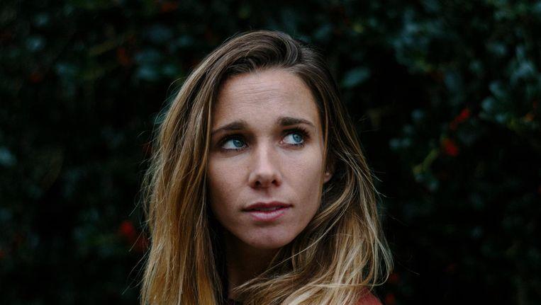Ellen Hoog: 'Als ik nu bij Amsterdam een wedstrijd niet op mijn best speel, denk ik: kan gebeuren.' Beeld Marc Driessen