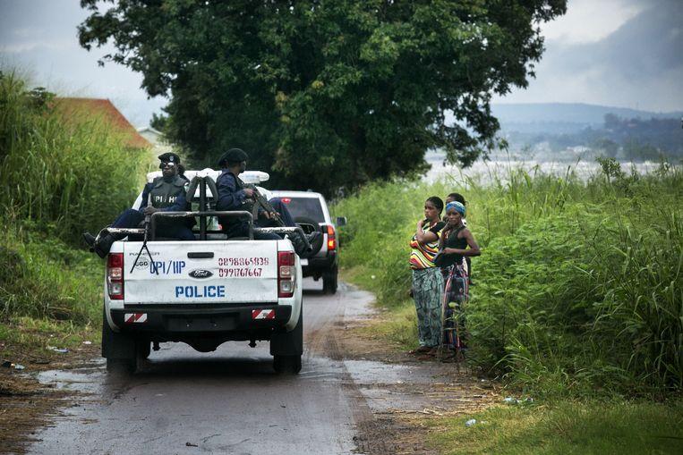 De Croo werd continu geëscorteerd door politiemotards: 'Ik voelde me vooral beschaamd.' Beeld Tim Dirven