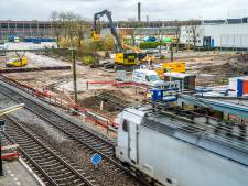 Met grof geschut vijf jaar werken voor meer treinen tussen Rijswijk en Delft-Zuid