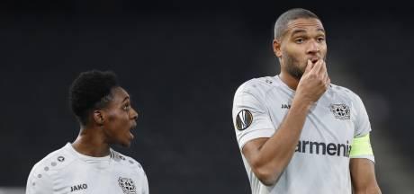 Frimpong bij basisdebuut ondanks comeback onderuit met Leverkusen