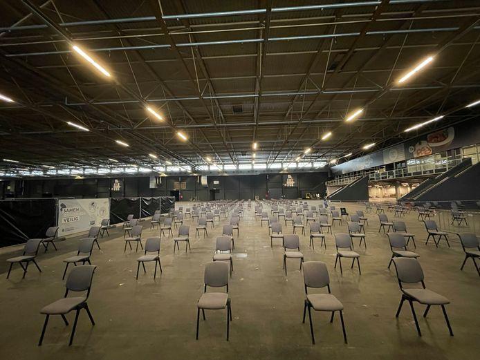 Geen stormloop in Flanders Expo