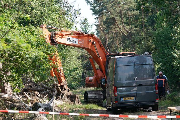 Dag twee van de zoekactie naar Tanja Groen in de Strabrechtse Heide
