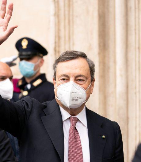 Economische malaise, pandemie en vaccinatieproblemen: Draghi staat voor hels karwei in Italië