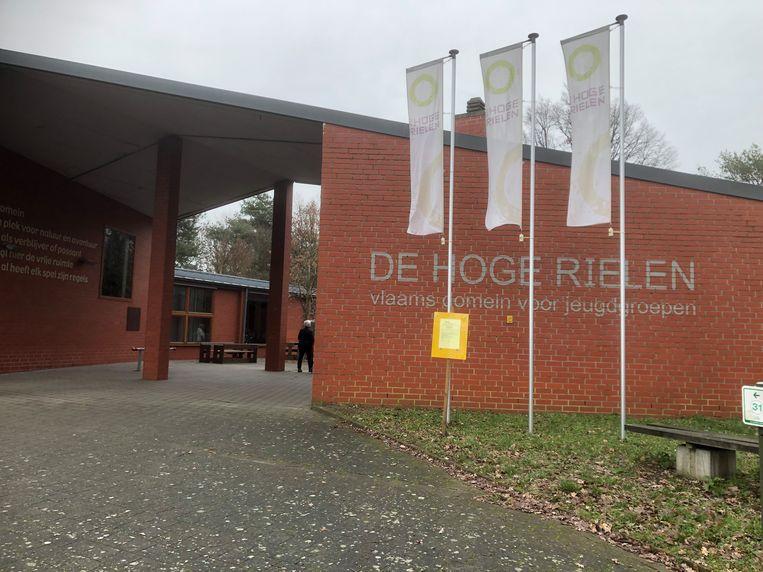 De verkenners van de scoutsgroep Thila Coloma uit Mechelen waren op weekend in De Hoge Rielen in de buurt van Turnhout. Beeld rv