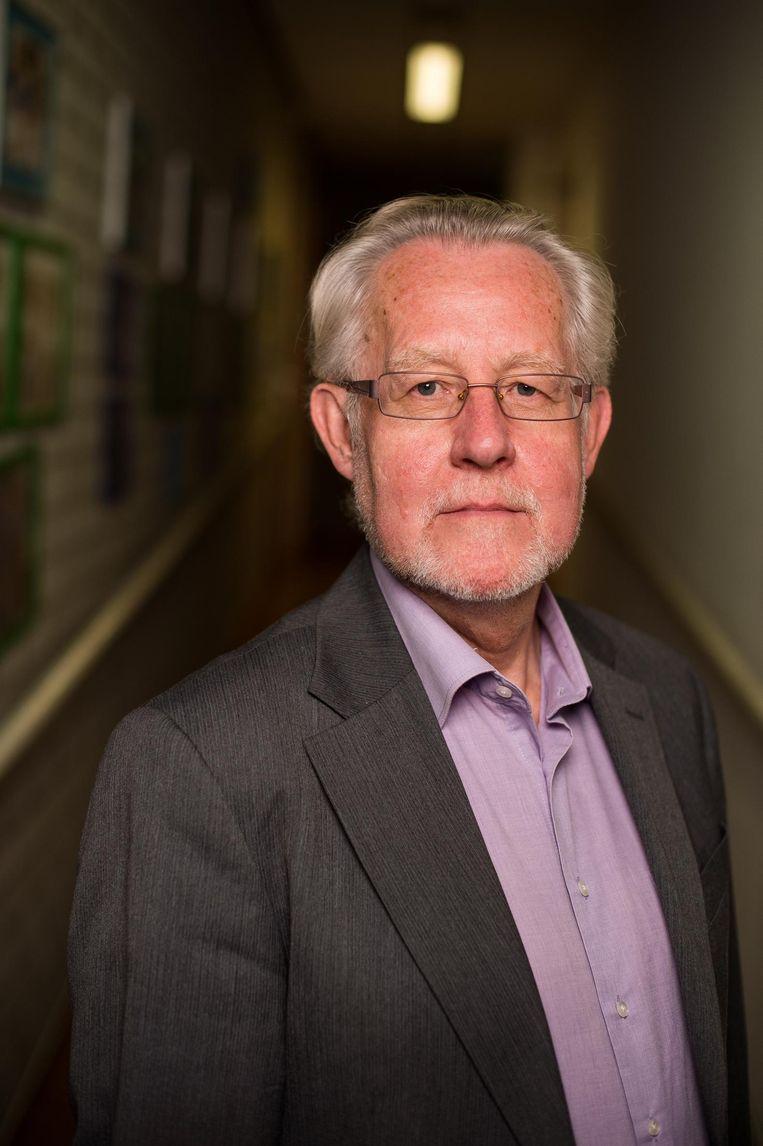 Directeur Flevoparkschool Bart Meijer (65) Beeld Mats van Soolingen