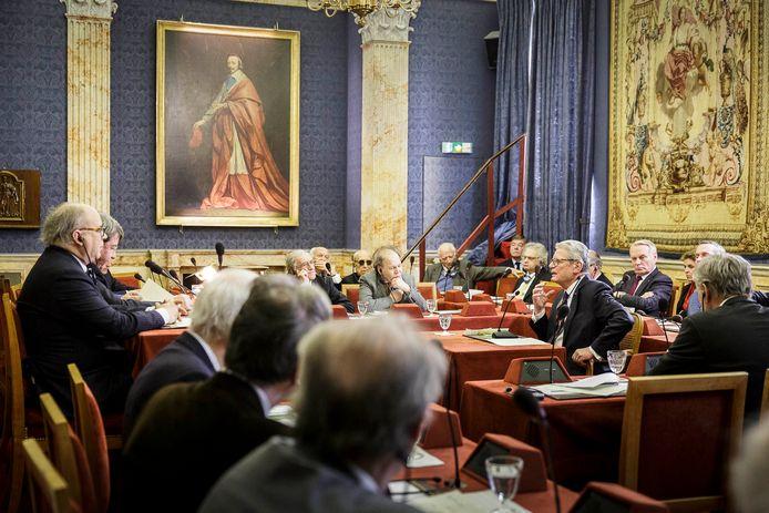 L'Académie française est une institution réputée dans le monde. En 2017, l'ancien président allemand, Joachim Gauck, avait pris part à une des réunions.