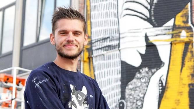 Mural van Brugse kunstenaar Wietse verkozen tot 'beste Belgische street art'