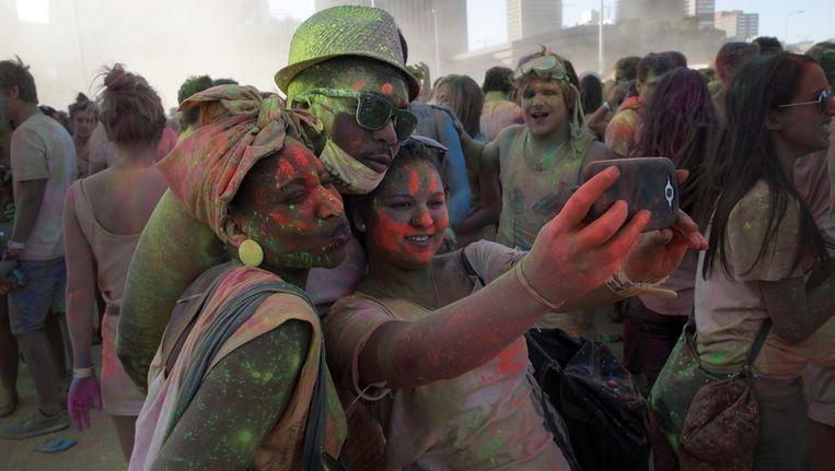 Kaapstad: One Colour Festival Beeld epa