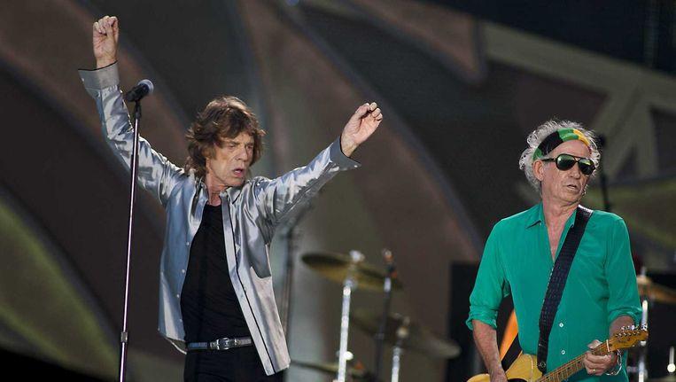 The Rolling Stones op Pinkpop. Beeld anp