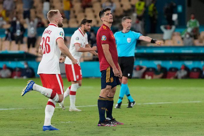 Gerard Moreno miste een strafschop na rust.