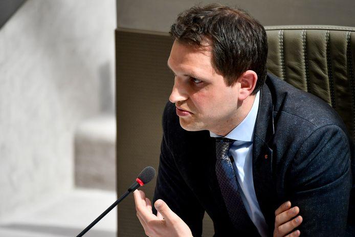 Open Vld-parlementslid Maurits Vande Reyde.
