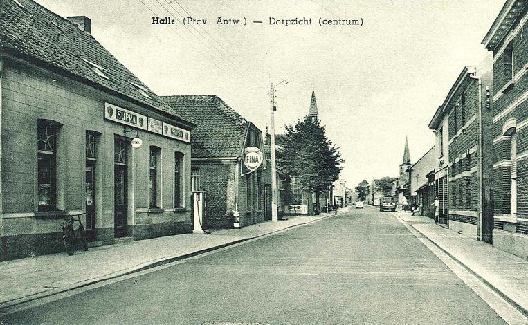 Halle-Dorp in 1970.