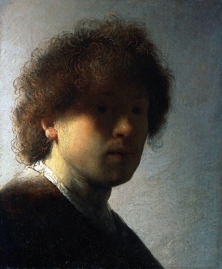 Olieverf op paneel, 22.6 x 18.7 cm. Te zien in het Rijksmuseum, Amsterdam. Beeld Getty Images