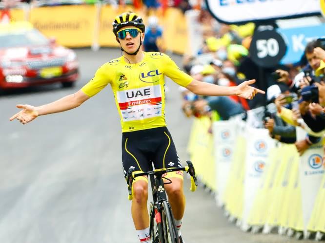 Tadej Pogacar, de keiharde racer die geen geschenken uitdeelt: geel, bollen, wit, vierde ritzege en tweede eindzege zijn in zicht