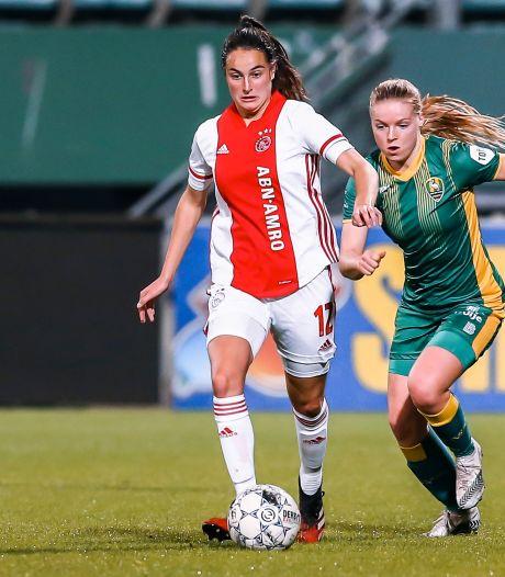 Caitlin Dijkstra uit Breda wil met hoofdprijs afsluiten bij Ajax: 'Als we alles winnen, staan wij met de schaal in onze handen'