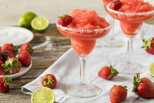 Frozen Strawberry Daiquiri.