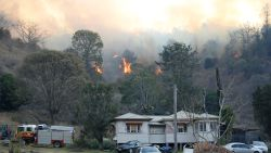 Hevige branden in Australië