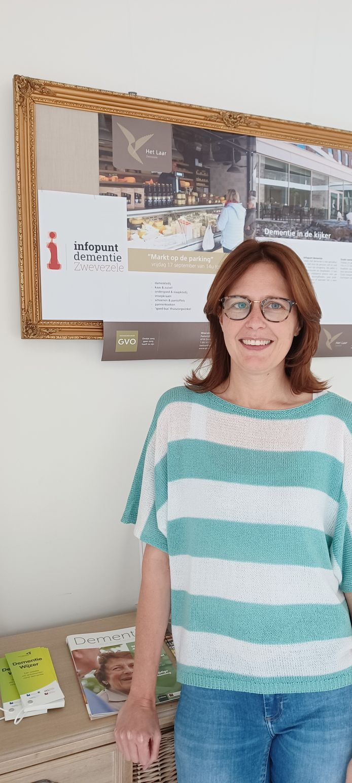 Isabelle Impens van het infopunt dementie