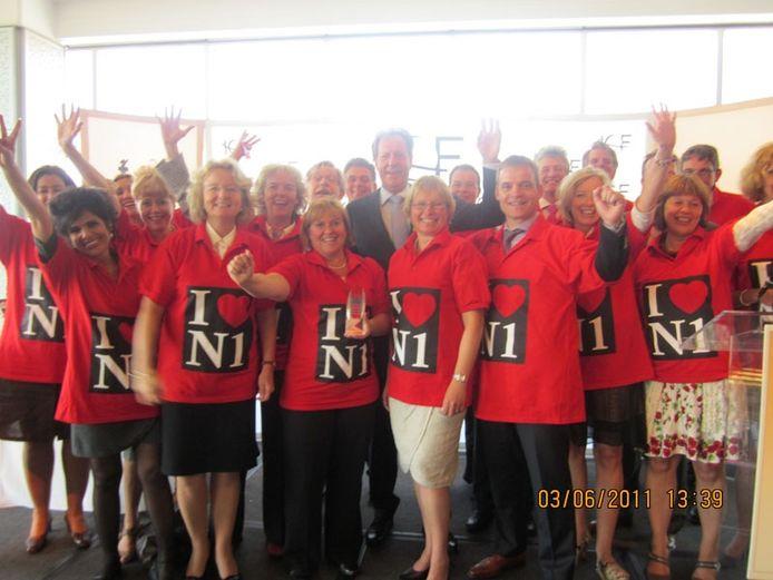 De Brabantse delegatie in New York.