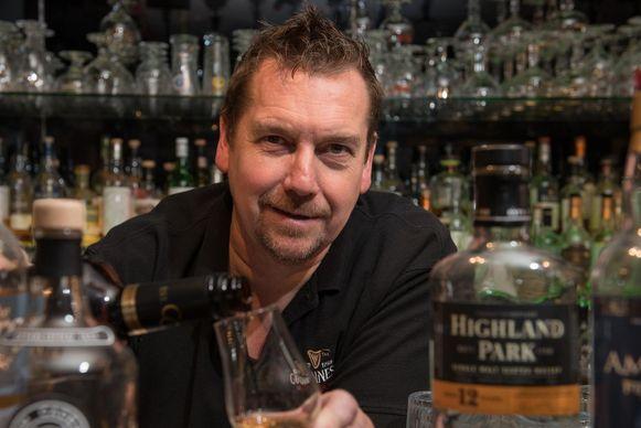 Mario Valcke organiseert een whisky-evenement.