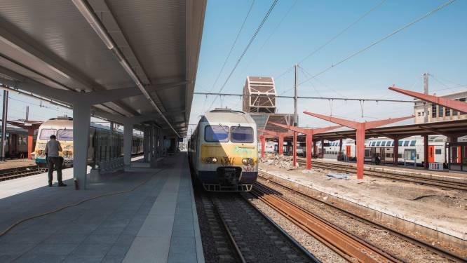 Opfrisbeurt Hasselts station schiet goed op: perron 6-7 vernieuwd met schuilhuisje, zitbanken en ledverlichting