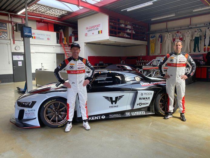 Peter Guelinckx en Bert Longin trekken met PK Carsport Audi R8 LMS GT2 ten strijde in de Fanatec GT2 European Series.