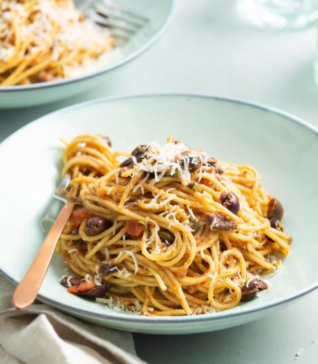 Wat Eten We Vandaag: Spaghetti alla puttanesca