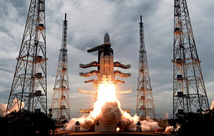 Bij een geslaagde landing op de maan is India het vierde land dat daarin slaagt.