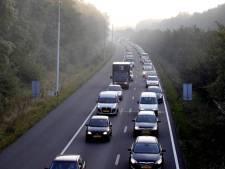Geen weg door de bossen bij Nuenen, wel bussluis naar Eindhoven open voor gewoon verkeer