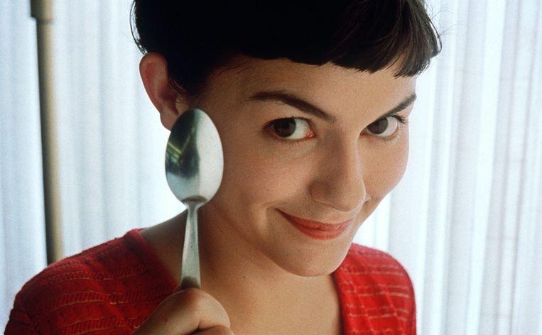 Audrey Tautou in 'Le fabuleux destin d'Amélie Poulain' Beeld EPA
